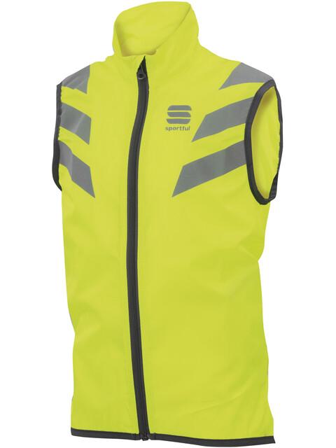 Sportful Reflex Vest Kids yellow fluo